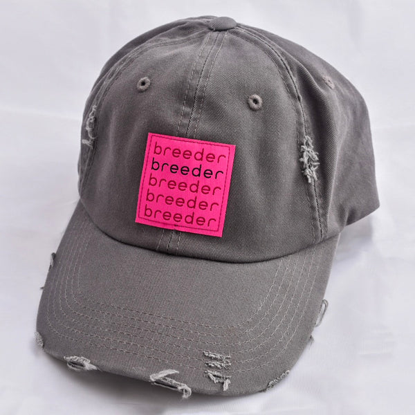 Distressed BREEDER Baseball Cap