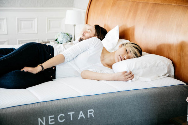 Nectar Sleep Memory Foam Mattress with 2 Free Pillows