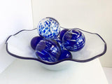 Sphere Set of 7 - Cobalt