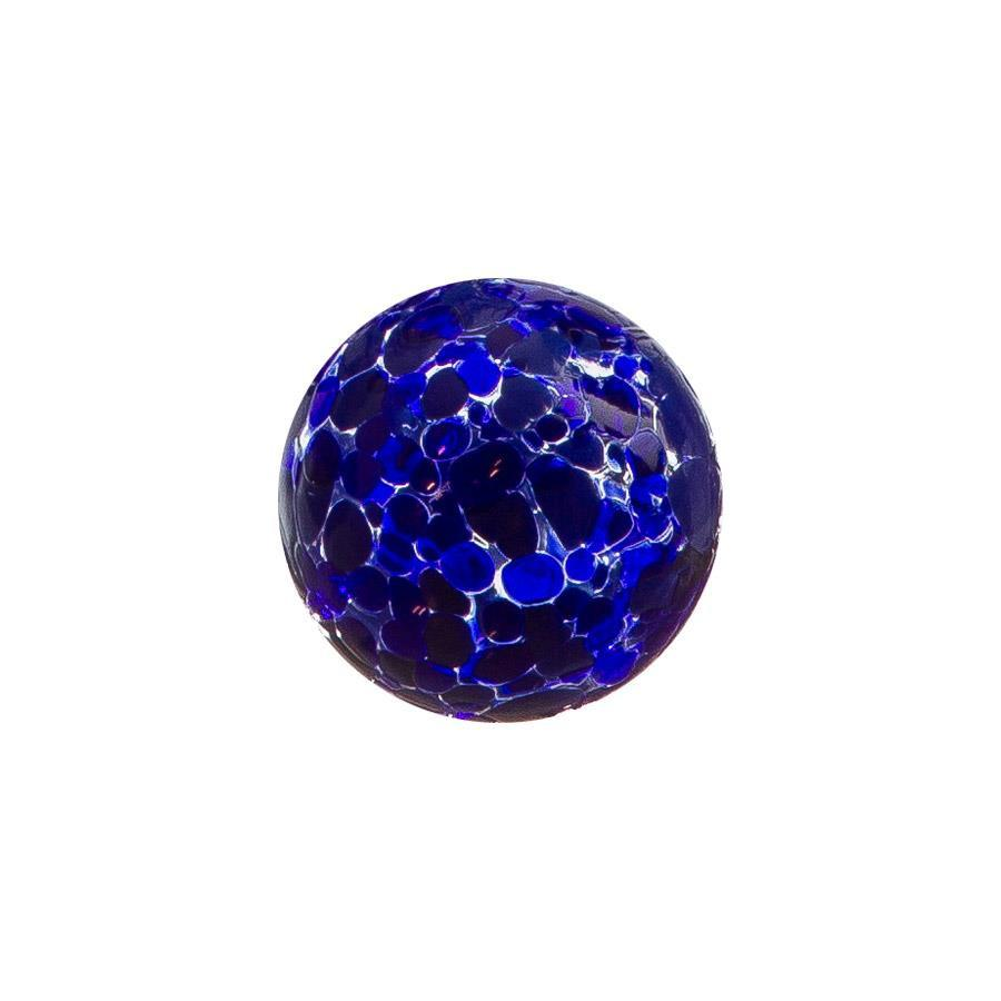 "Sphere - 2.5"" Cobalt Speckled"