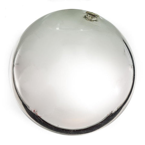 "Sphere - 8"" Silver Plated"