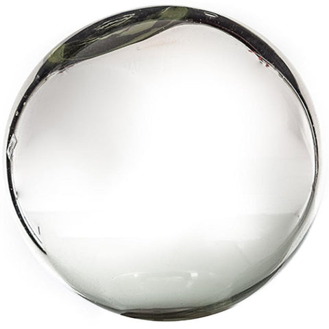 "Sphere - 13"" Silver Plated"