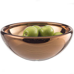 "13"" PLATED BOWL-LOW"
