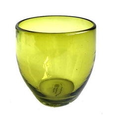 ROCKS GLASSES-OLIVE  SET/4
