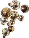 Wall Spheres - Chocolate Plated ~ Set of 13