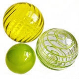Sphere Set of 3 - Lemon Lime