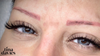 Case Study 4: Cover-up: From red to brown eyebrows