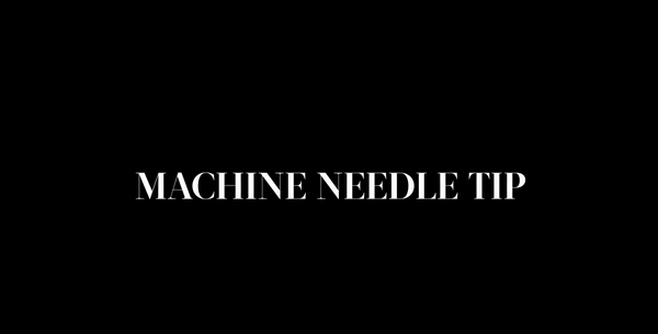 Machine Needle Tip with I ❤️ INK