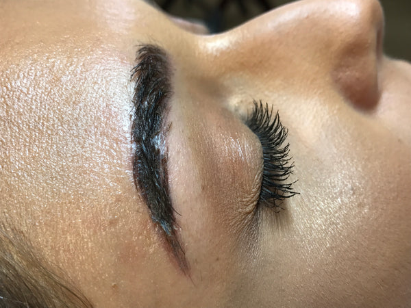 Microblading Healing Day By Day Tina Davies Professional