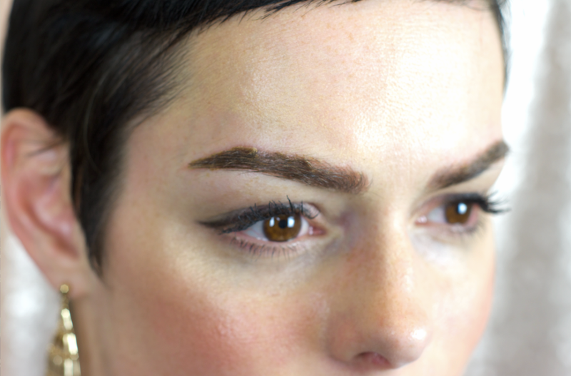 Day 6 Microblading Healing Process using Bold Brown