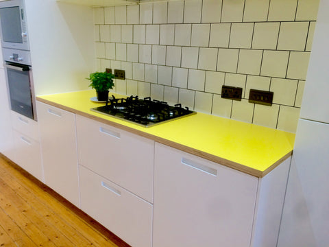 Birch Plywood and Formica Worktop