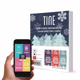 Premium Winter Theme Stickers/Tags - 16 Count