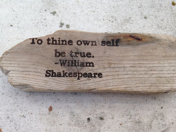 Shakespeare - To thine own self be true