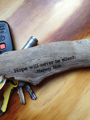 Harvey Milk - Hope will never be silent