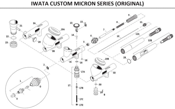 iwata Custom Micron version 1