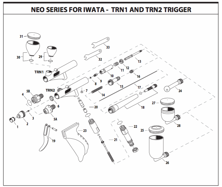 NEO TRN Parts Guide