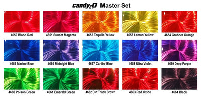 Auto-Air Candy₂O Master Set - Ground Metal