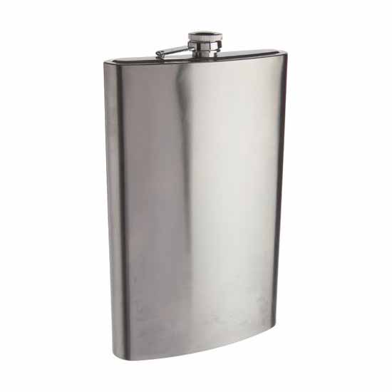 Flask - 64oz Stainless Steel