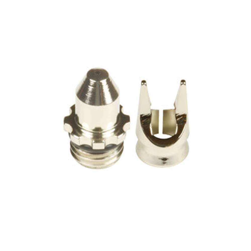 Harder & Steenbeck:  .15/.20 Air cap Set with push on Clear View Needle Cap (Crown Cap) and seal