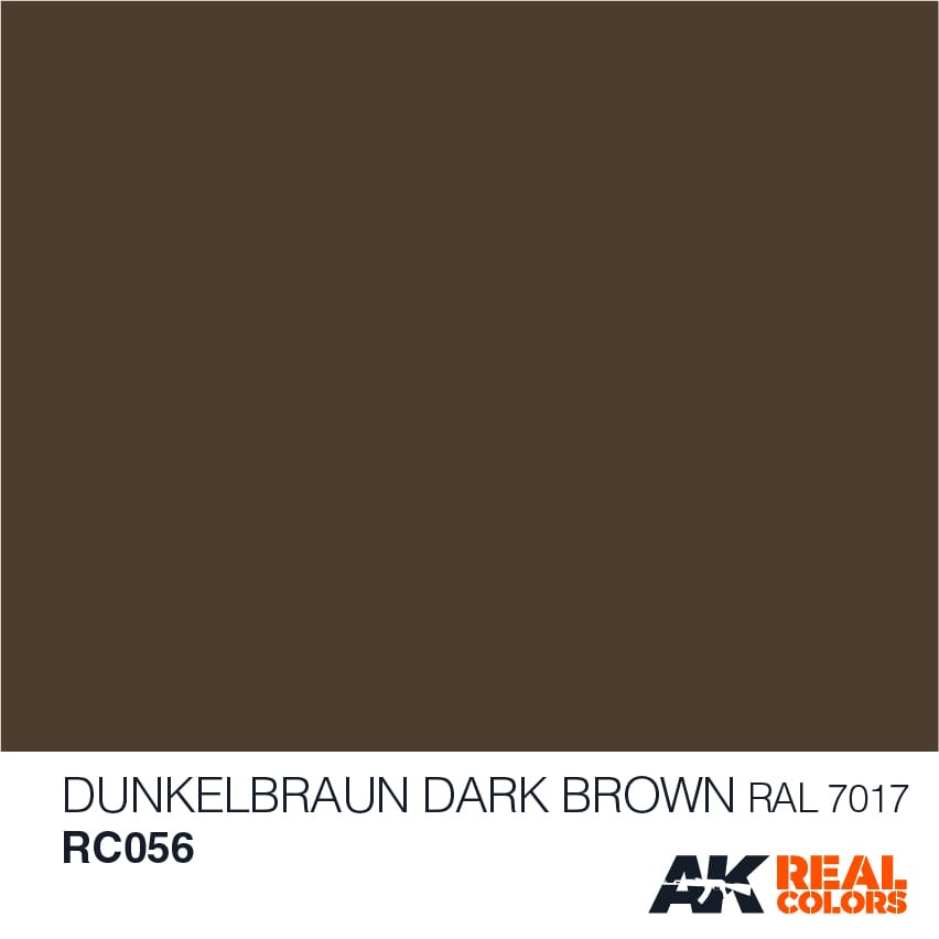Dunkelbraun-Dark Brown RAL 7017