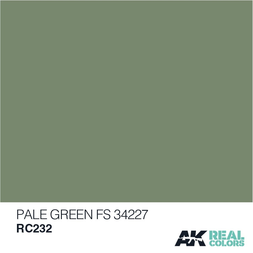 AK Interactive Real Colors Pale Green FS 34227 10ml