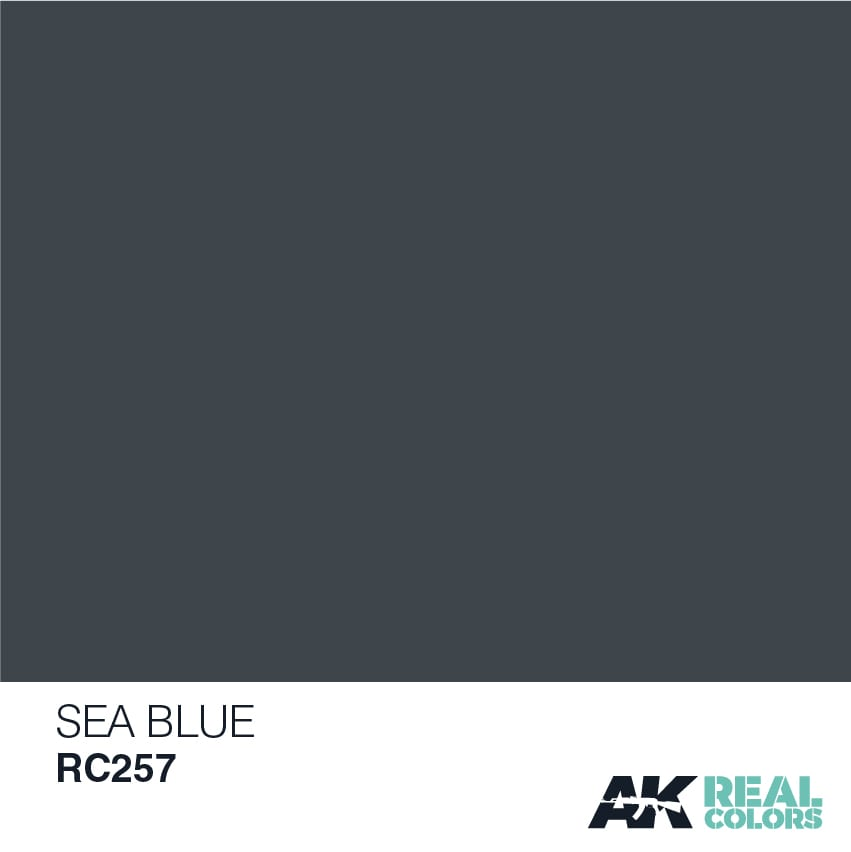 AK Interactive Real Colors Sea Blue 10ml