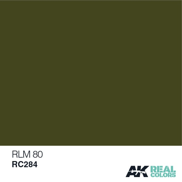 AK Interactive Real Colors RLM 80
