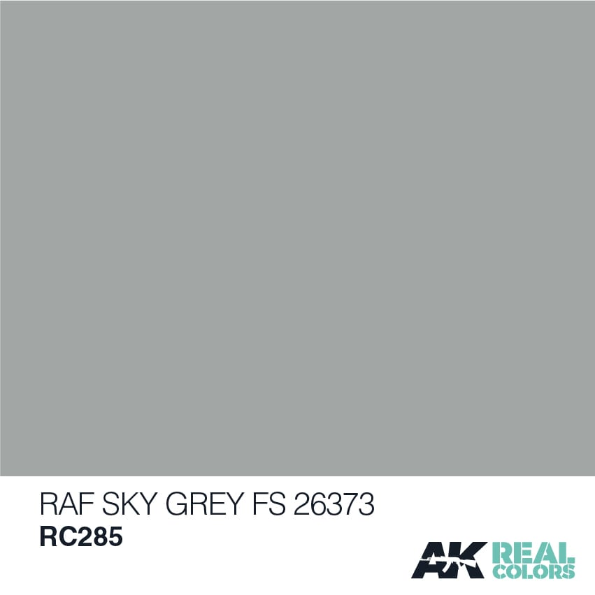 AK Interactive Real Colors RAF SKY GREY / FS 26373 - 10ml