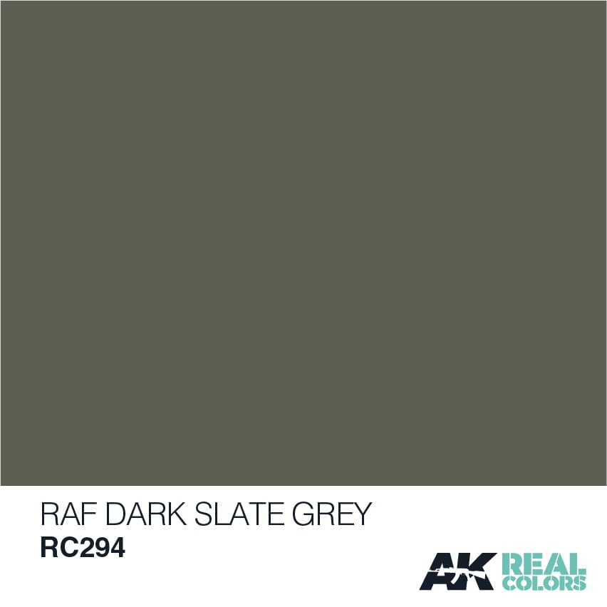AK Interactive Real Colors RAF Dark Slate Grey 10ml