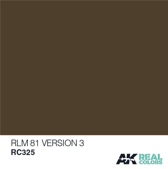 AK Interactive Real Colors RLM 81 Version 3 10ml