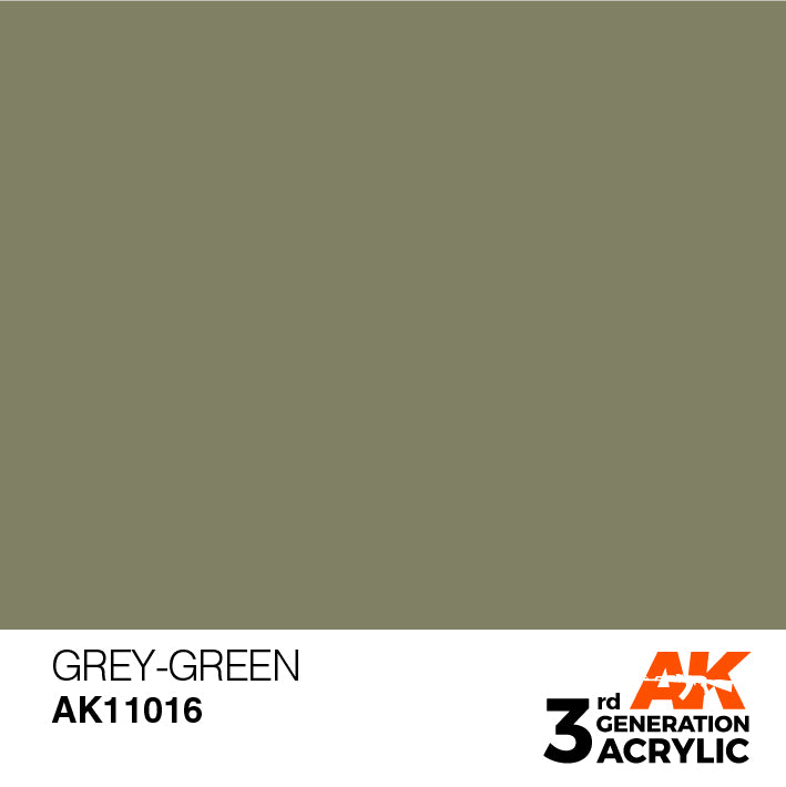 AK Interactive Paint 3rd Gen Paint: Grey-Green AK11016