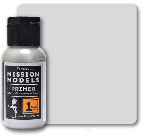 MMS003 Mission Models - Grey Primer