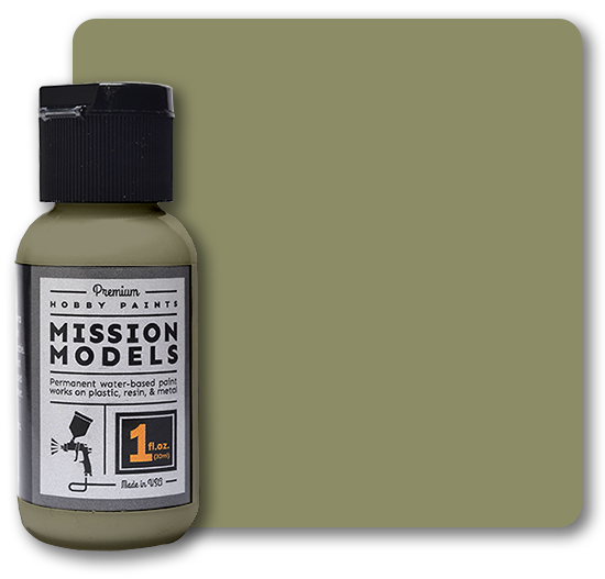 Mission Models Paint - US Army Olive Drab Faded 1 FS 34088