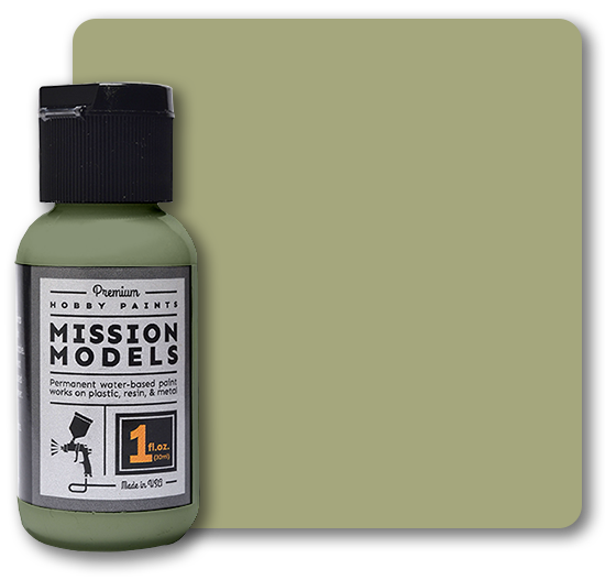 Mission Models Paint - US Army Olive Drab Faded 2