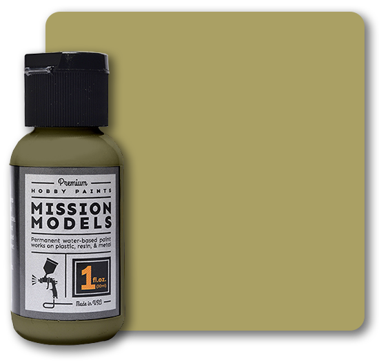 Mission Models Paint - US Army Olive Drab Faded 3