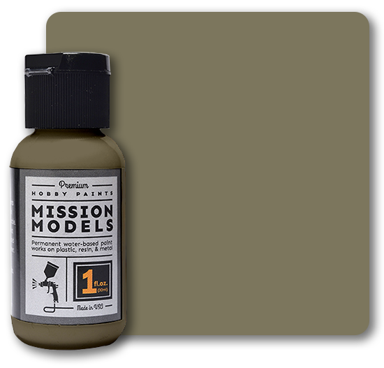 Mission Models Paint - US Army Khaki Drab FS 34088