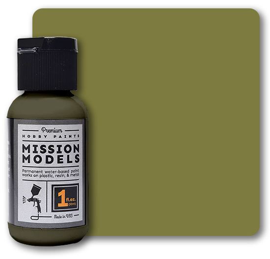 Mission Models Paint - Olive Drab FS 34088