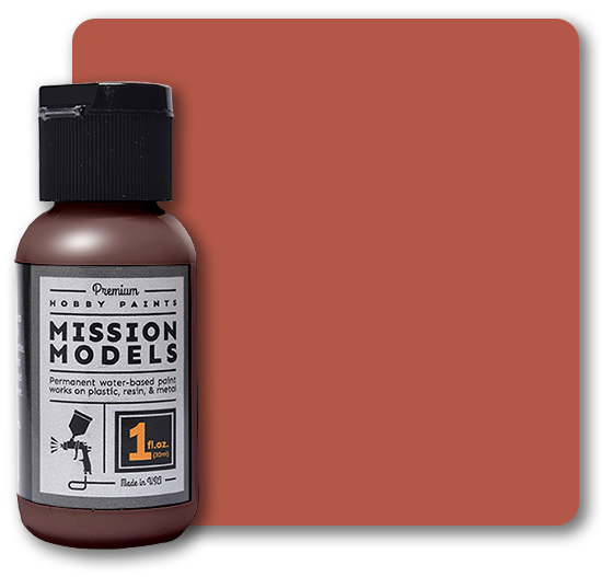 Mission Models Paint - Dark Rust 1