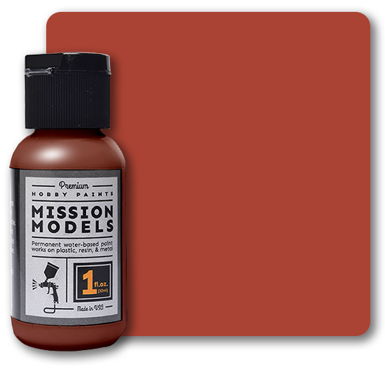 Mission Models Paint - Transparent Light Rust