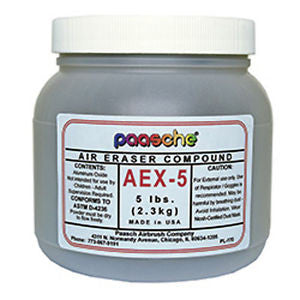 AEX5 Paasche Fast Cutting Compound - 240 grit