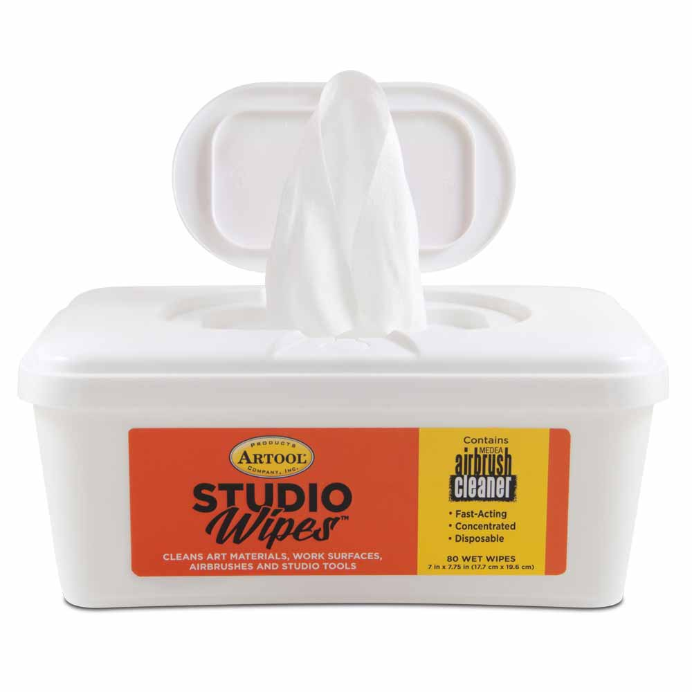 Airbrush Cleaner Studio Wipes