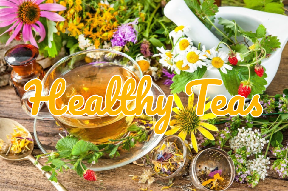 The many health benefits of teas and tisanes.