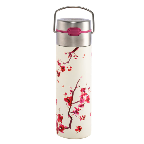 Leeza Cherry Blossom Travel Tumbler by Eigenart