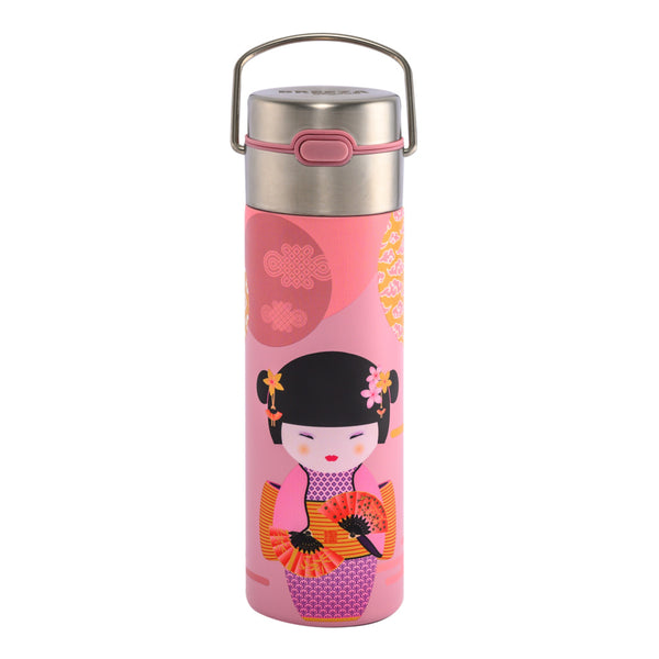 Leeza New Little Geisha rose Travel Tumbler by Eigenart