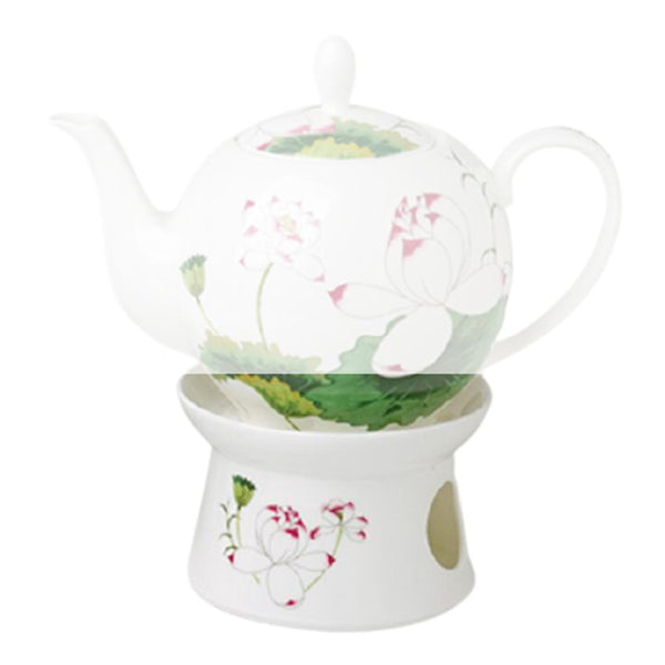 Tealogic Warmer for Teapot Lotus | Tea Desire