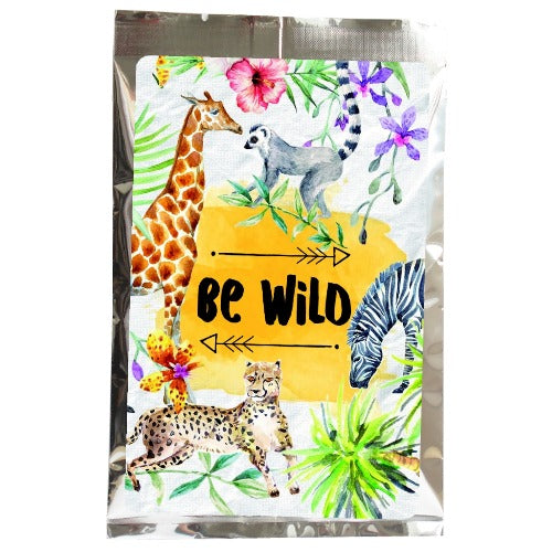 tea greetings: be wild - Tea Desire