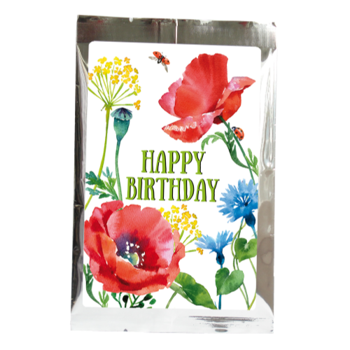 tea greetings:  Happy Birthday