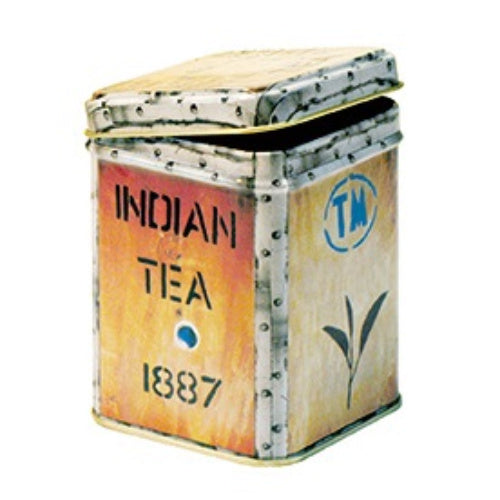 storage tin tea chest - Tea Desire