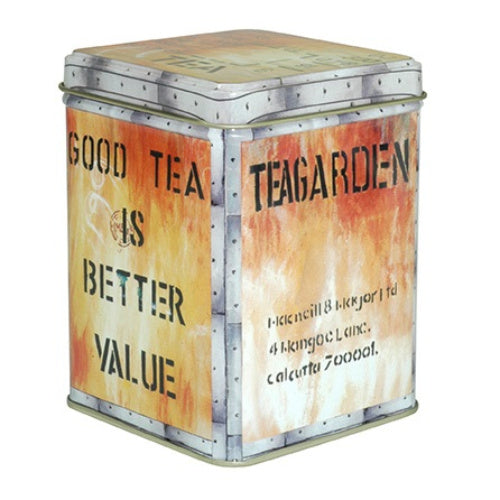 storage tin tea chest lg - Tea Desire