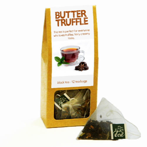 p-box, butter truffle - Tea Desire